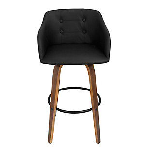 LumiSource Bruno Barstool with Swivel, , rollover