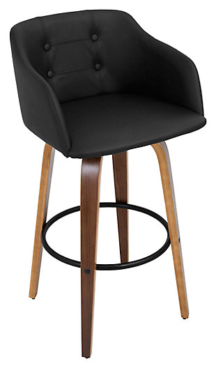 LumiSource Bruno Barstool with Swivel, , large