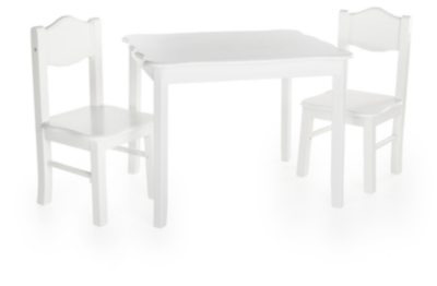 Table Chairs White Product Photo