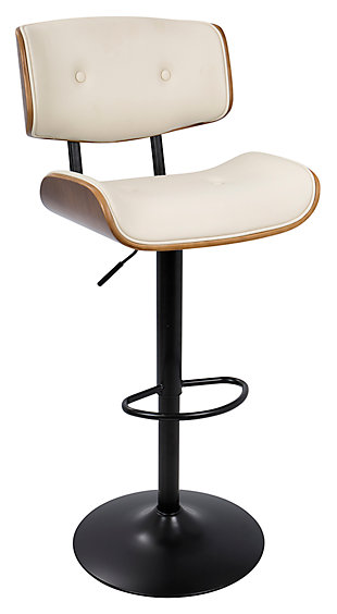 LumiSource Lombardi Bar Stool, , large