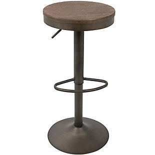 Dakota Bar Stool (Set of 2), Antique Brown, large