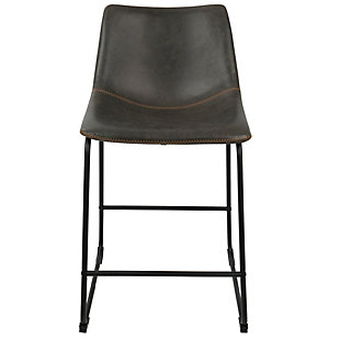 LumiSource Duke Counter Stool (Set of 2), , rollover