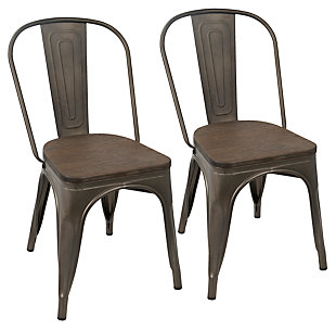 Oregon Dining Chair (Set of 2), Espresso, large