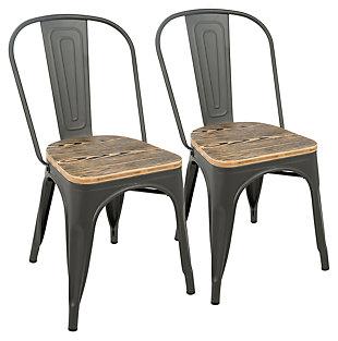 LumiSource Oregon Dining Chair (Set of 2), , large