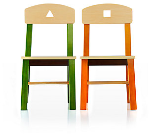 See & Store Table and Chairs (Set of 3), , large