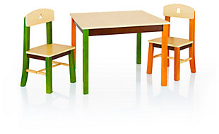 Kids & Store Table and Chairs (Set of 3), , rollover