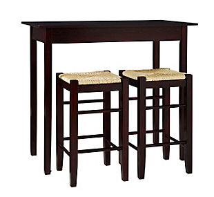 Brady 3-Piece Counter Height Set, , large