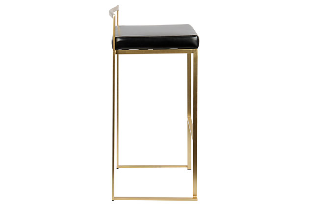 Fuji Bar Stool (Set of 2), , large