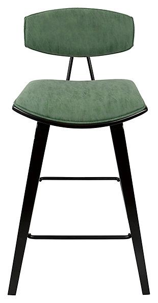 Damato Counter Stool (Set of 2), Green, rollover
