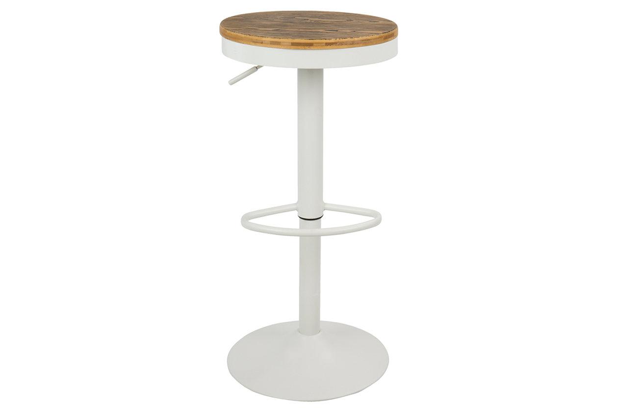 Terrific Dakota Adjustable Swivel Bar Stool Set Of 2 Ashley Uwap Interior Chair Design Uwaporg