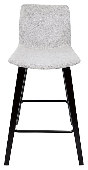 Cabo Counter Stool (Set of 2), Gray, rollover