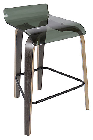 Clarity Clarity Counter Stool, Green, large
