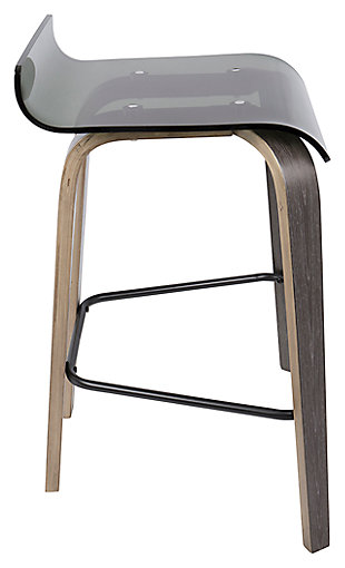 Clarity Clarity Counter Stool, Green, rollover