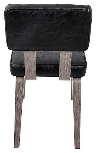 Nunzio Chair (Set of 2), Black, large