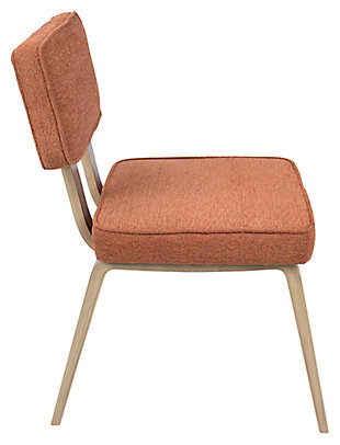 Nunzio Chair (Set of 2), Orange, large