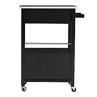 Rolling Mitchell Kitchen Cart, , large