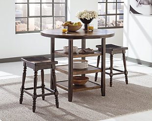 Moriann Counter Height Dining Room Table, , rollover