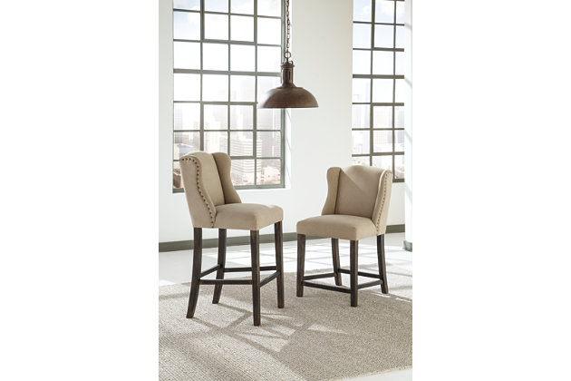 Moriann Bar Height Bar Stool Ashley Furniture Homestore