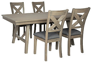 Aldwin Dining Table and 4 Chairs, , large