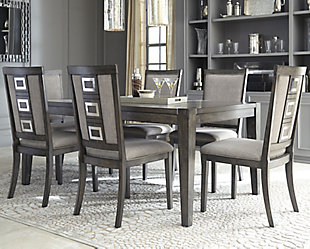 Chadoni Dining Table and 6 Chairs, , rollover
