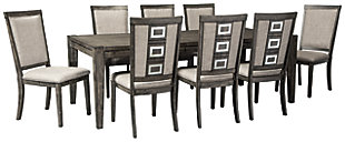 Chadoni Dining Table and 8 Chairs, , large