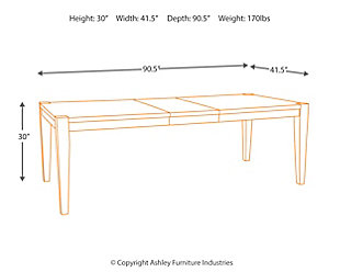Chadoni Dining Room Extension Table, , large