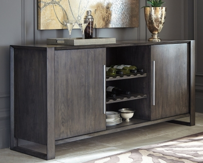 Ashley Chadoni Dining Room Server, Gray