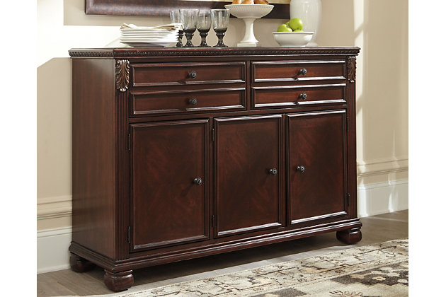 Leahlyn Dining Room Buffet Ashley Furniture Homestore