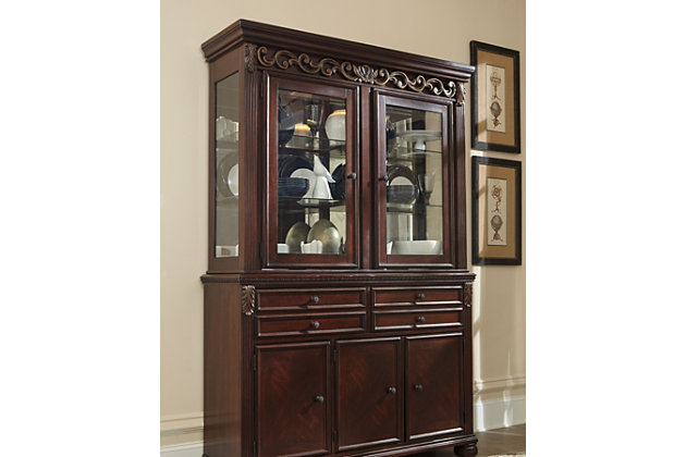 Leahlyn Dining Room Hutch, , large