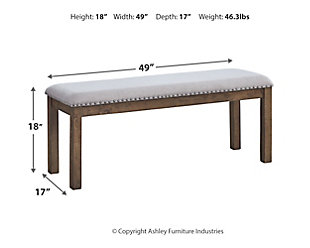 Moriville Dining Room Bench, , large