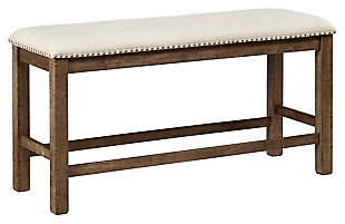 Moriville Counter Height Dining Bench, , large