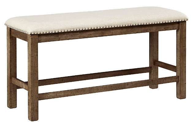 Moriville Counter Height Dining Room Bench, , large