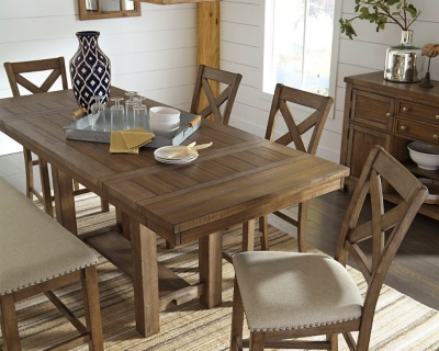 Picture of: Moriville Counter Height Dining Extension Table Ashley Furniture Homestore