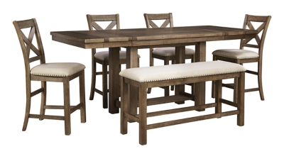 Moriville Counter Height Dining Room Table Ashley Furniture