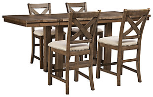 Moriville 5-Piece Dining Room, , large