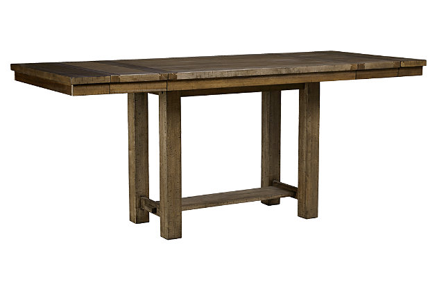 Moriville Counter Height Dining Room Extension Table, , large