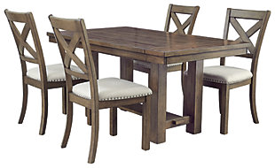 Moriville Dining Table and 4 Chairs, , large