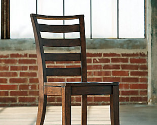 Wood Dining Room Chairs dining room chairs | ashley furniture homestore