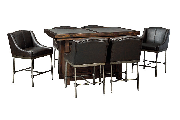 Starmore 5-Piece Counter Dining Set, , large