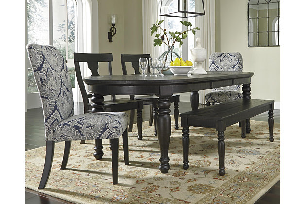 Sharlowe Dining Room Table by Ashley HomeStore, Gray