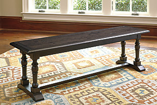 "Townser 60"" Dining Room Bench, , rollover"