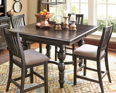 Reliable Height Dining Room Table Grayish Brown Counter Product Photo