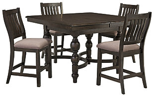 Townser 5-Piece Counter Dining Set, , large
