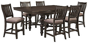 Townser 7-Piece Counter Dining Set, , large