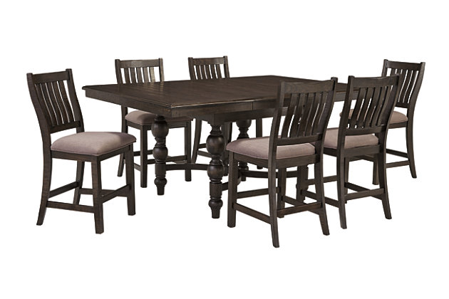 Townser Counter Height Dining Room Table Ashley