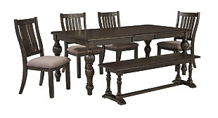 "Townser 60"" Dining Room Bench, , large"