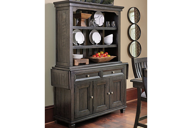 Townser Buffet and Hutch, , large