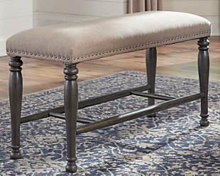 Audberry Counter Height Dining Room Bench, , rollover