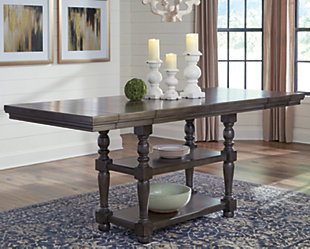 Audberry Counter Height Dining Room Extension Table, , large