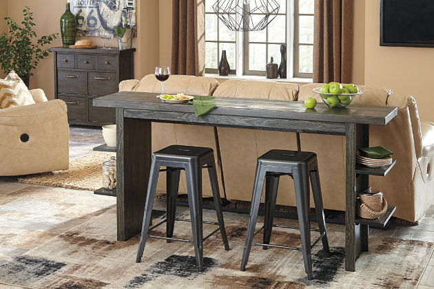 Lamoille Long Counter Table Ashley Furniture Homestore